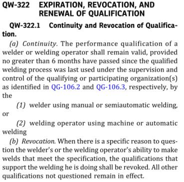 Welder qualification follow ASME IX- Part 3: How to carry